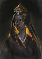 Smoky Samurai extra portrait by opi-um