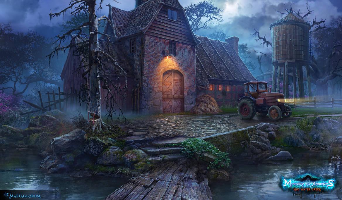Old farm by sergeilameiko