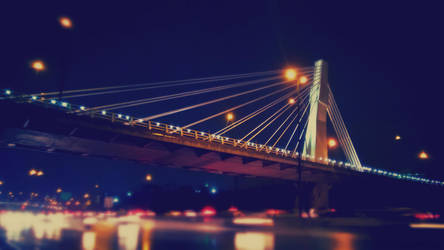 Bridge in Rain by pooribu
