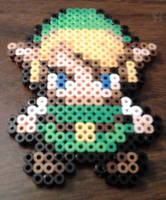 Link in Perler Beads by Basilthebarbarian