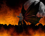 Asche, Fire Fae by illysArt