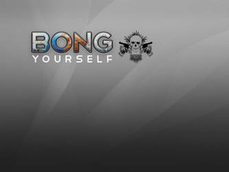 Bong yourself by MichalSadilek