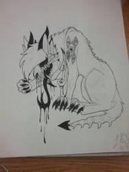 Another of The Ever Evolving Skullbeast by XxTwilightCryxX