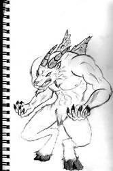 Goat Beast by RollingEye