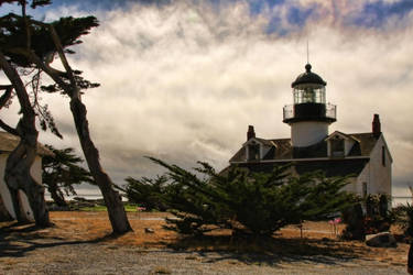 Point Pinos Lighthouse Monterey California by NDCott