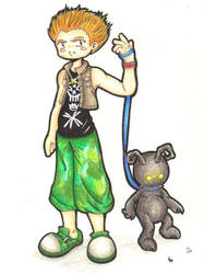 KH2-Hayner and the Heartless by SootSpritePuffs