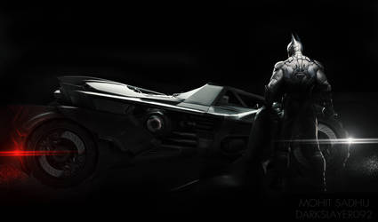 The Batman - Arkham Knight Render by Darkslayer092