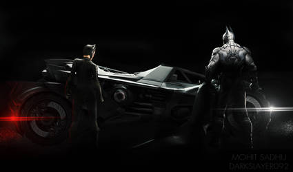 Batman and Catwoman by Darkslayer092