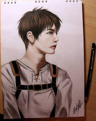 Eren Yeager by ReiAyer