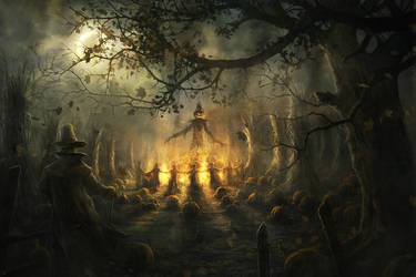 The Pumpkin King by RadoJavor