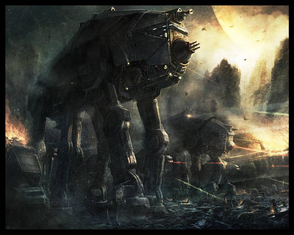 Imperial Walker by RadoJavor