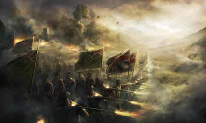 The Battle by RadoJavor