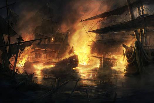 The Fire by RadoJavor