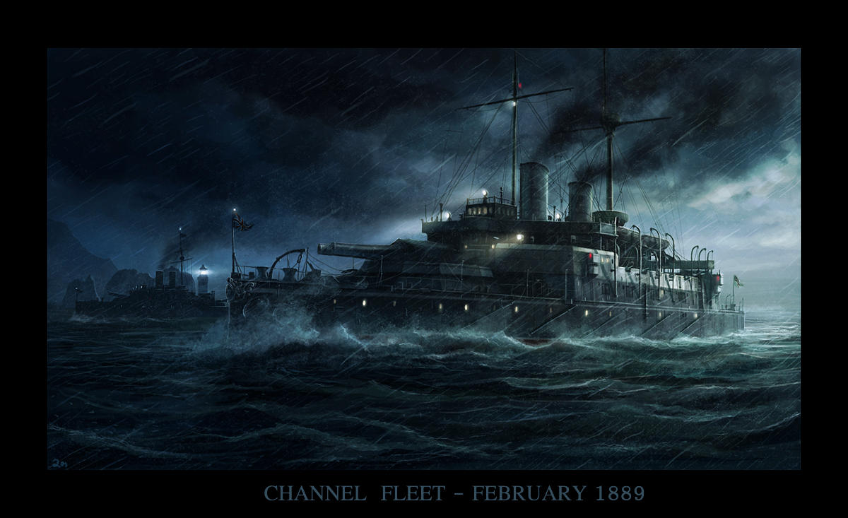 The Channel Fleet by RadoJavor