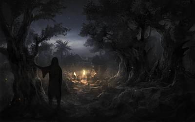 gethsemane garden by RadoJavor