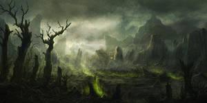 Ash Planet by RadoJavor
