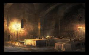 the upper room by RadoJavor