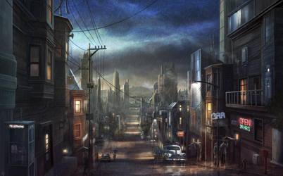 The Streets of SF by RadoJavor