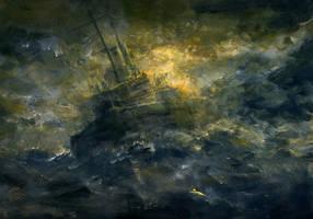 Atlantic storm by RadoJavor