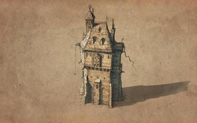Warhammer Empire Tower by RadoJavor