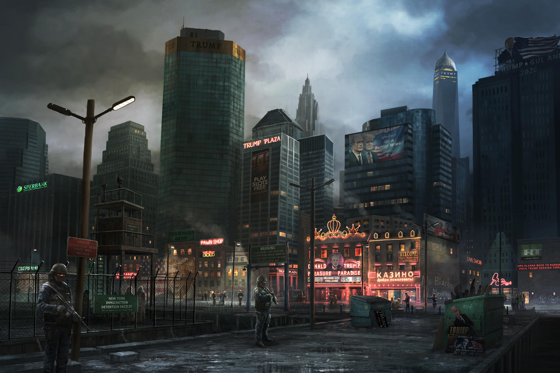 New York by RadoJavor