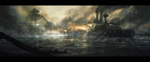 War of the Worlds by RadoJavor