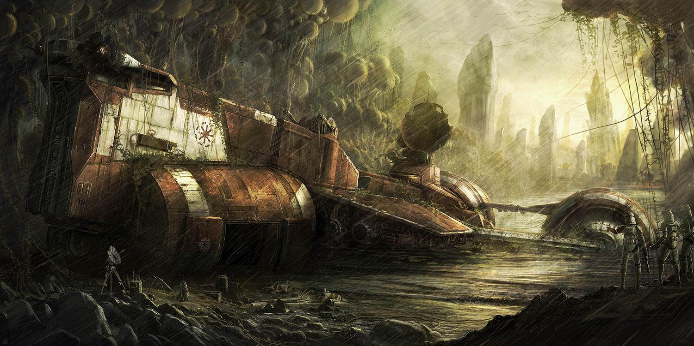 Republic cruiser by RadoJavor