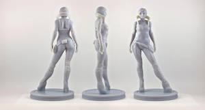 3D Print of Aviatrix by ryankingslien