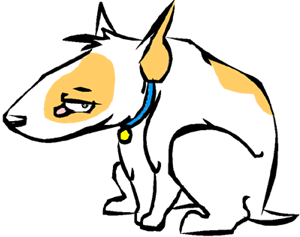 Bull Terrier by Color-By-Numbers