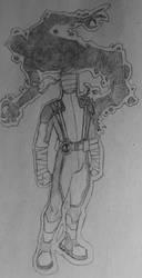 Larry Trainor: Negative Man Redesign II by KyronicArtist