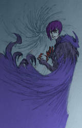 Raven Redesign (Colored) by KyronicArtist