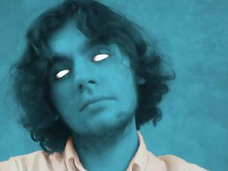 Feeling Blue by KyronicArtist