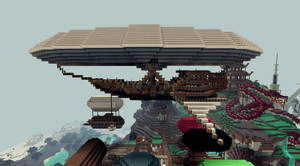 Minecraft Sailing Air Ship by CW390