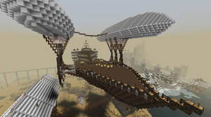 Royal Minecraft Airship by CW390
