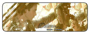 Delena (Damon x Elena) Signature by zuka-hime