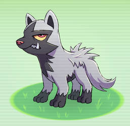 Poochyena by TheBowtieOne