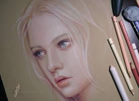 Nastya Kusakina by JenniferHealy