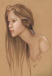 Simple Portrait by JenniferHealy