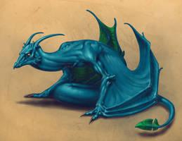Arain Sitting Happy by dragonictoni
