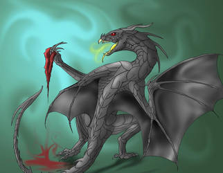Bloodbane Loves to Kill by dragonictoni