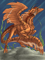 A dragon that be colored by dragonictoni