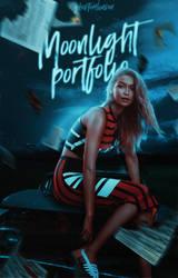 Moonlight Portfolio [Wattpad Cover] by BeMyOopsHi