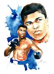 Muhammad Ali 2 by SantillanStudio