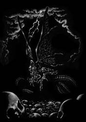 Necronomicon II: The great Cthulhu was loose again by SantillanStudio