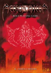 Necronomicon RPG cover by SantillanStudio