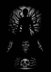 Necronomicon V: Summoning dark entities by SantillanStudio