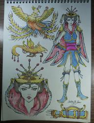 Warring Kingdoms Quinn by arish9