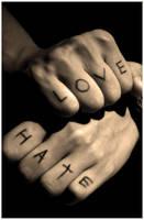Love - Hate by scarlet-kiss