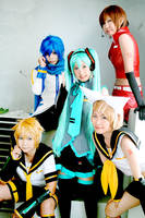 Vocaloid Cosplay by yuegene