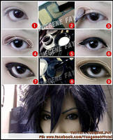 Basic Cosplay Make Up by yuegene
